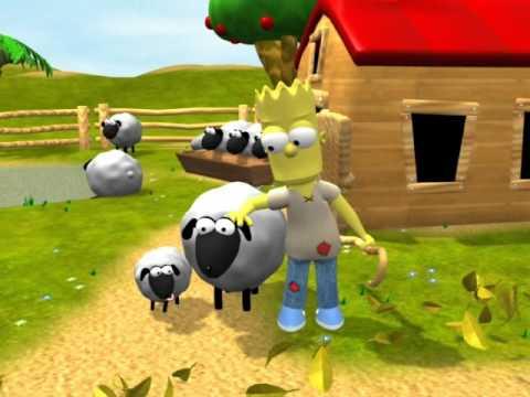 История о пропавшей овечке 3D (Русская версия)