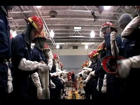 Navy Boot Camp: Firefighting