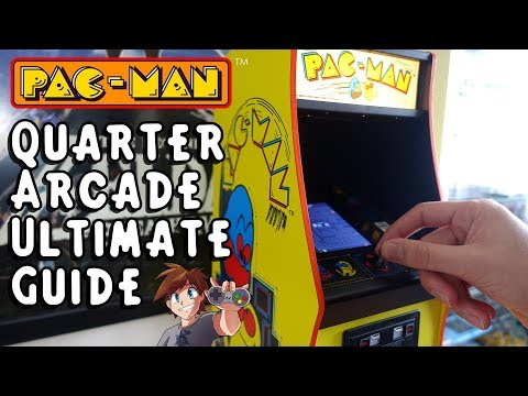 Ultimate Guide To The Pac-Man Quarter Arcade By Numskull - Unboxing, Review, Cabinet Overview & More