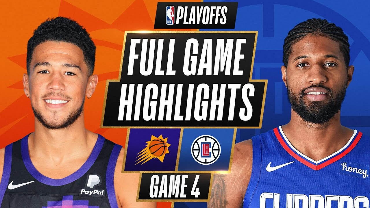 Download #2 SUNS at #4 CLIPPERS | FULL GAME HIGHLIGHTS | June 26, 2021