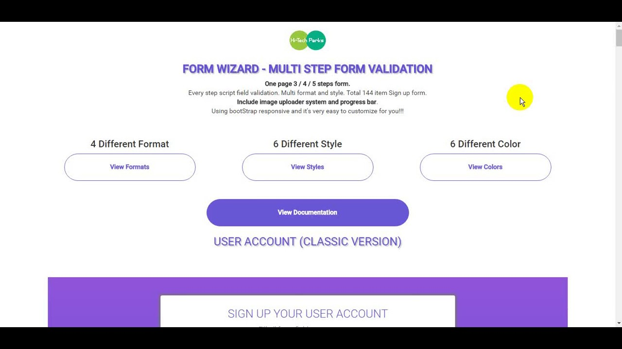 Form Wizard Multi Step Form Validation
