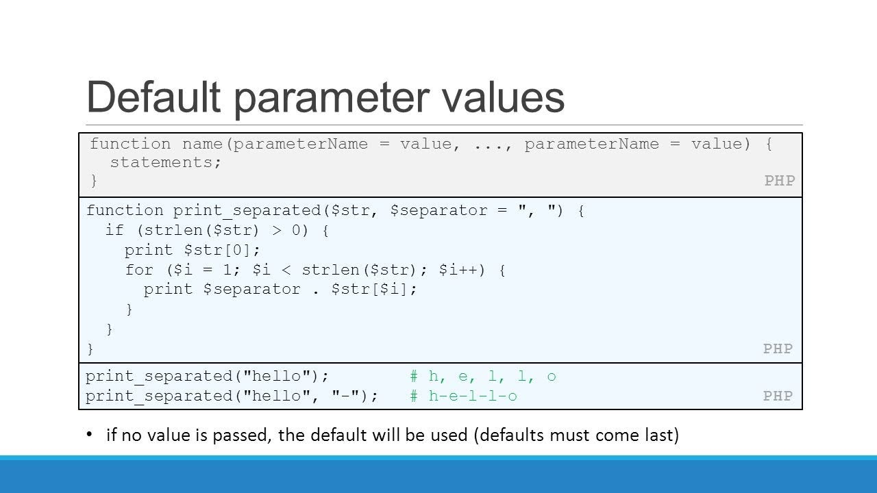 what is a function parameter?