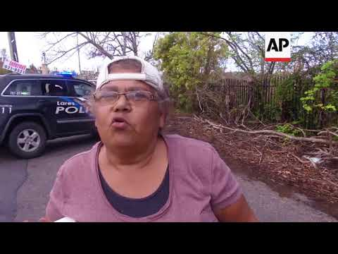 Food and water aid reaches rural Puerto Rico