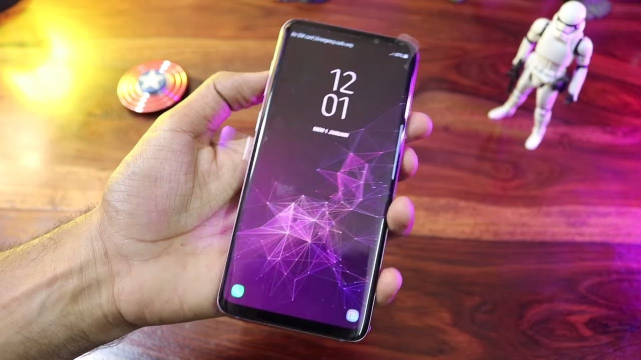 Samsung S9 Plus Purple Unboxing - YouTube