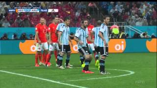 Netherlands Argentina 2014 World Cup Semifinal Full Game ESPN
