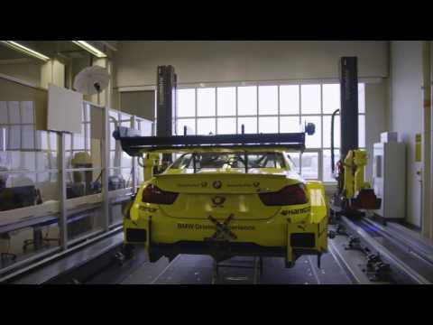 Precision work - BMW Motorsport.