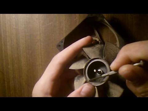 Как разобрать кулер для пк