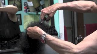 How to cut in a Hairpiece - Curly Hair