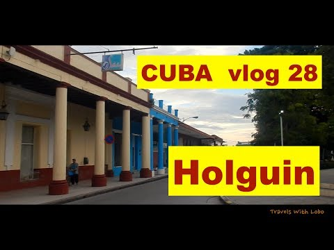 HOLGUIN, CUBA - CITY OF PARKS - GATEWAY TO GUARDALAVACA