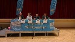 Podiumsdiskussion vor der Bürgermeisterwahl in Rodgau