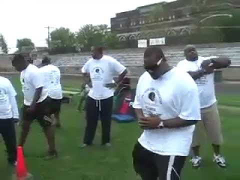 Jahri Evans 2012 camp part 2