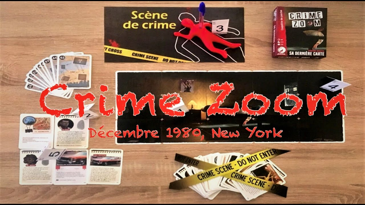 jouer carte sur table Crime Zoom : Jouer carte sur table !   YouTube
