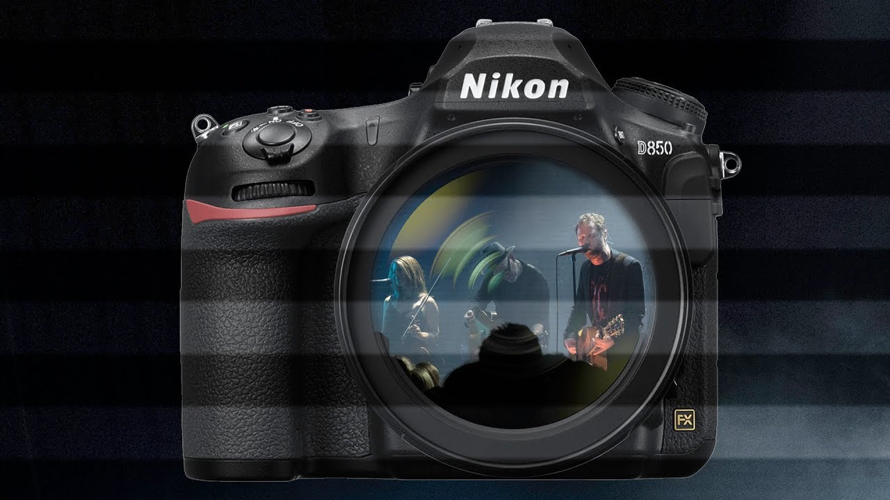 Nikon D850 Banding in Live view mode