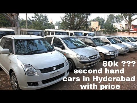 Second hand car market in Hyderabad WITH PRICE || Hunting human ||