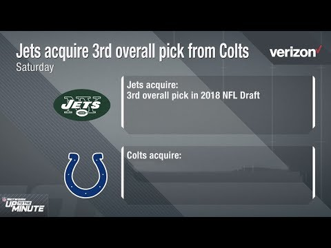 Why Did the Jets Trade Up for the 3rd Pick & What Does this Mean for the Colts?  NFL