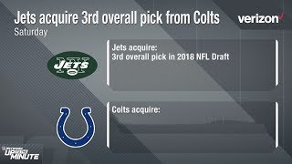Why Did the Jets Trade Up for the 3rd Pick & What Does this Mean for the Colts? | NFL