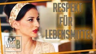 Marla Blumenblatt - Respekt vor Lebensmitteln!