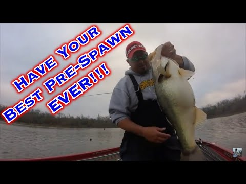 Lake Fork Bass Fishing Tips: Have Your Best Pre-Spawn EVER!!!