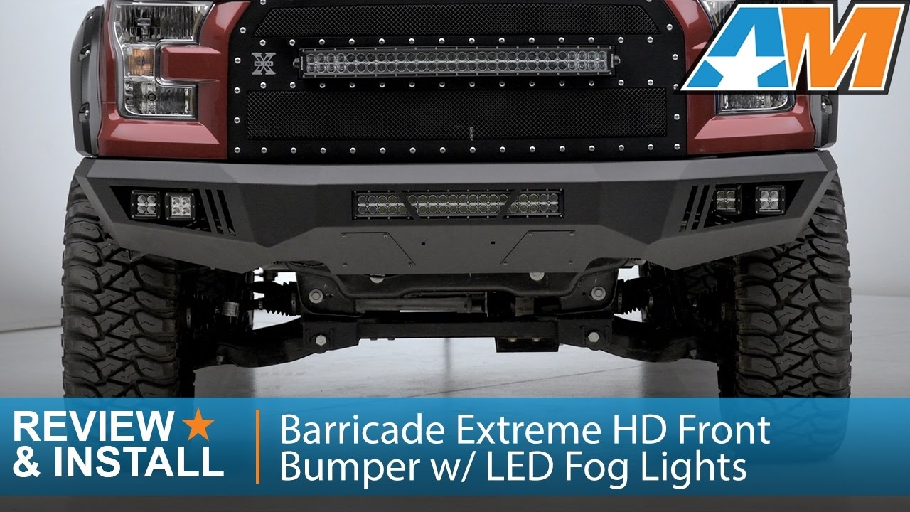 F150 Barricade Extreme Hd Front Per W Led Fog Lights Review & Extreme Lighting Accessories Install - Lilianduval azcodes.com