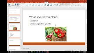PowerPoint 2016 Module 1 Project 1a