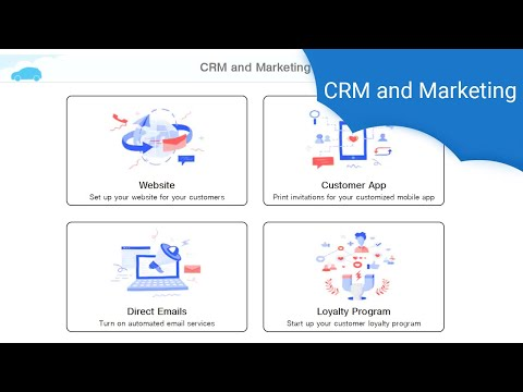 Auto Repair Cloud - CRM and Marketing