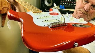 The new Fender squier classic vibe 50's stratocaster guitar nov 2019