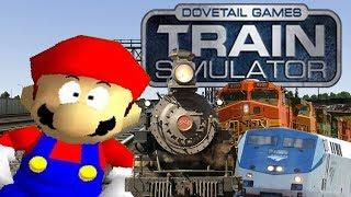 Mario in... Train Simulator