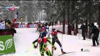Биатлон Хольменколлен Мужчины Масстарт 15 км 05.02.2012