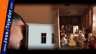 Las Meninas en 3D. Maqueta cuadro de Velázquez, misterios de Las Meninas