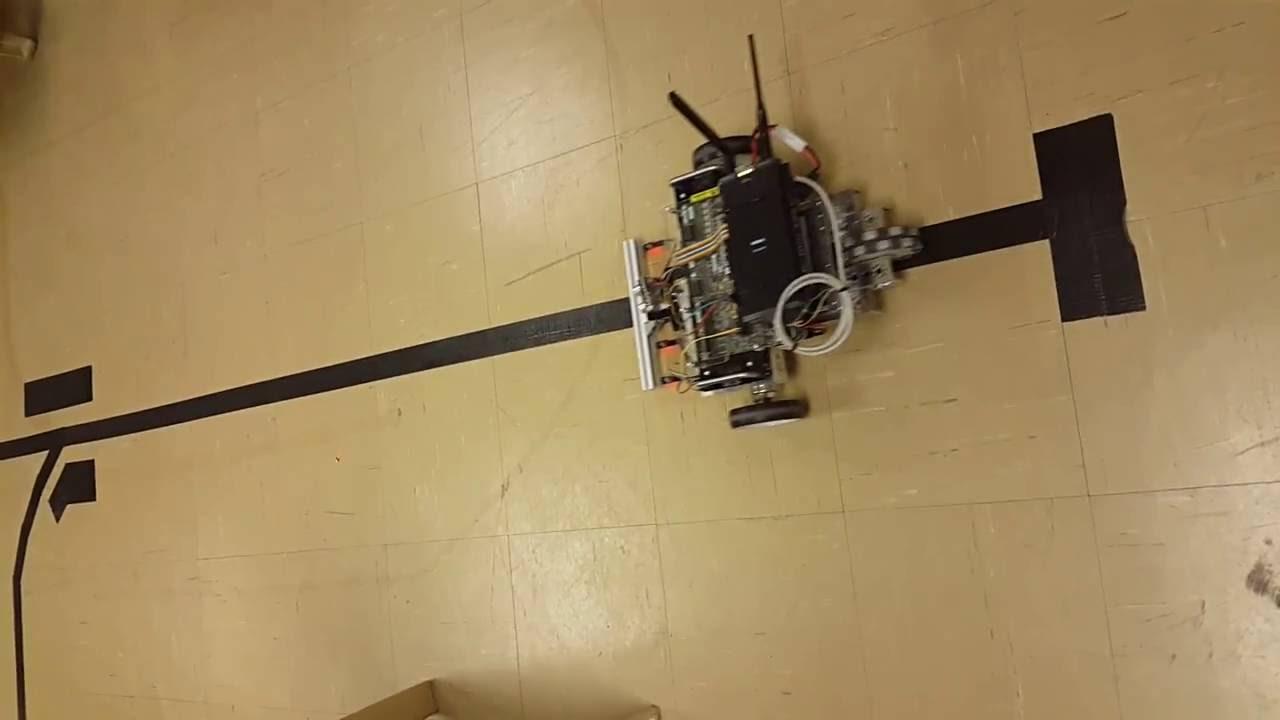 LINE FOLLOWING WITH LABVIEW ROBOTICS STARTERKIT
