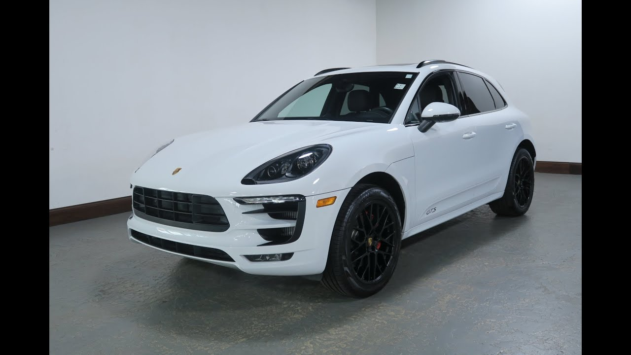 2017 Porsche Macan GTS AWD for Sale in Canton, Ohio | Jeff's Motorcars