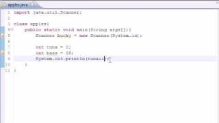 Java Programming Tutorial - 9 - Increment Operators