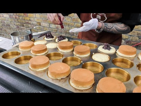 Thumbnail: The Imagawayaki Cake from Japan. London Street Food of Brick Lane