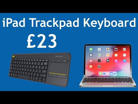 Cheap Trackpad Keyboard for iPad Logitech K400 plus
