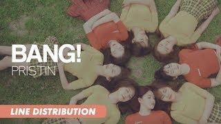 Download lagu PRISTIN - BANG! | Line Distribution