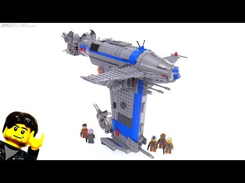 LEGO Star Wars The Last Jedi Resistance Bomber review! 75188