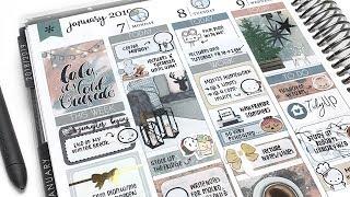 Plan With Me: Cozy Winter (ft. PlanningRoses, Erin Condren)