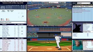 Baseball Mogul 2018 Gameplay (Pc Game).