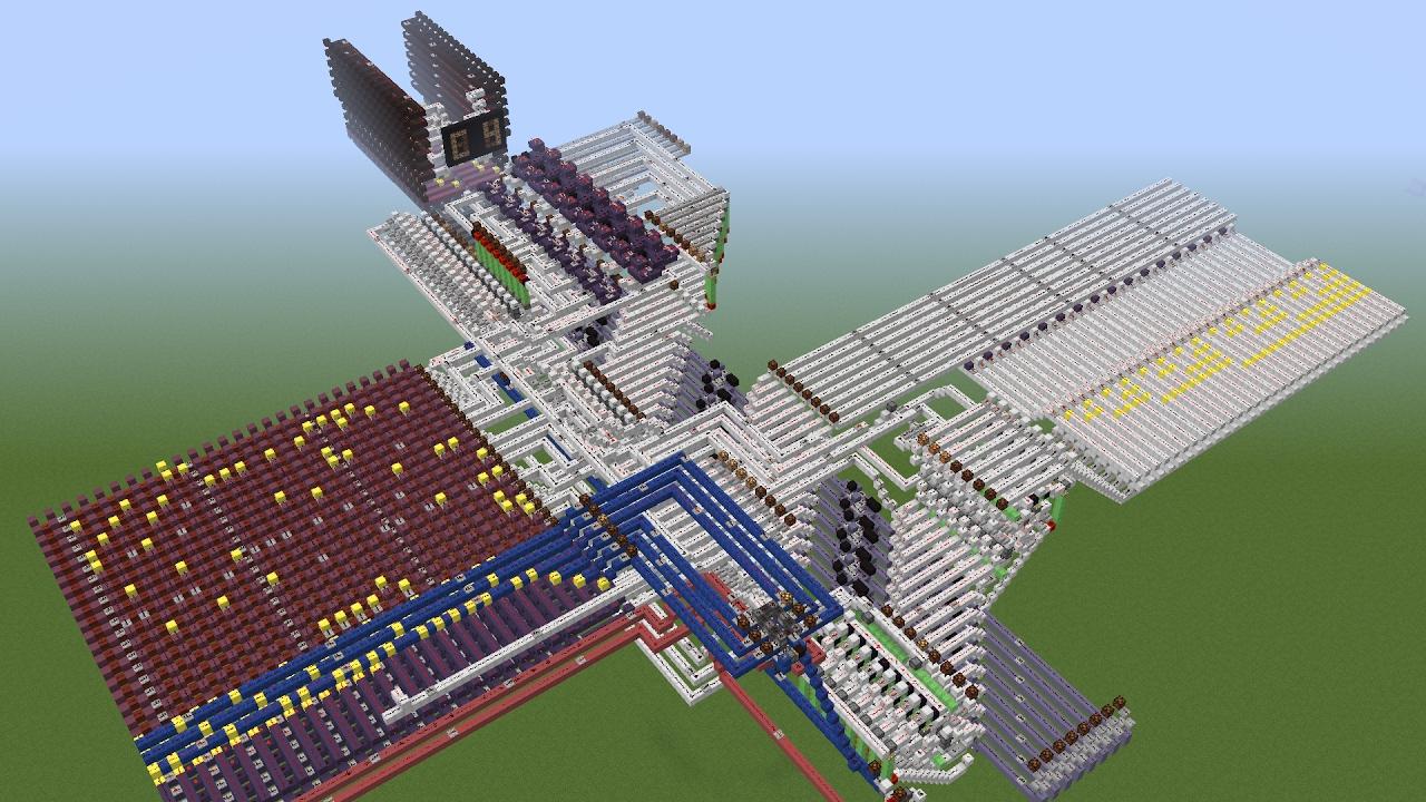 Minecraft - Programmable 8-bit Computer