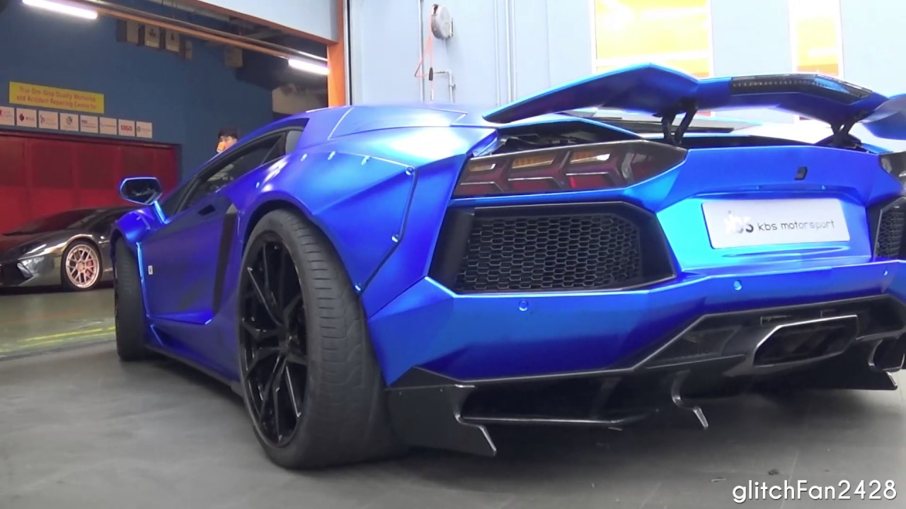 christmas special singapore 39 s first liberty walk lamborghini aventador youtube. Black Bedroom Furniture Sets. Home Design Ideas