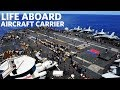 USS Gerald R. Ford (CVN 78) Flight Deck Activity | Life Aboard Aircraft Carrier