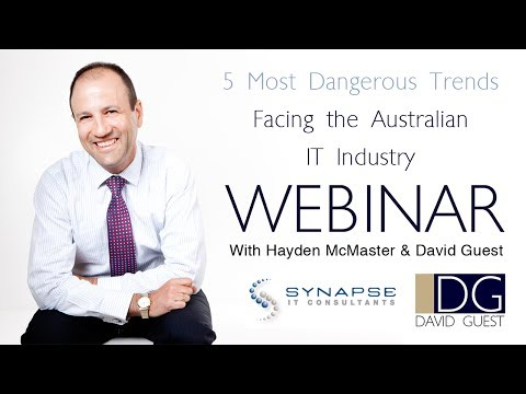 The 5 Most Dangerous Trends Facing the Australian IT Industry