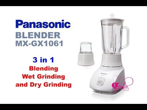Блендер стационарный Panasonic MX-AC400WTQиз YouTube · Длительность: 25 с