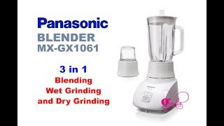 Panasonic, Blender MX GX1061 (Unboxing)