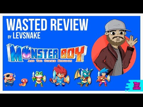 Monster Boy and The Cursed Kingdom - Wasted Review by Levsnake thumbnail