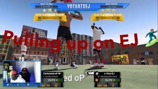 Savage pulls up on ej 🥴🥴*comp game*