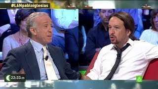 "Eduardo Inda a Pablo Iglesias: ""¿Cómo te sientes siendo pa..."