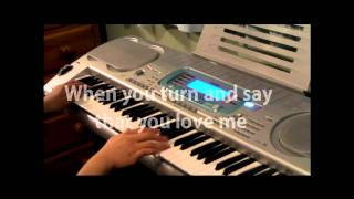 "JLS ""Love You More"" Children In Need 2010 Official Single KARAOKE / PIANO INSTRUMENTAL + LYRICS"
