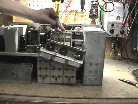 BC-342 Radio Receiver Capacitor Replacement Tips Part 2