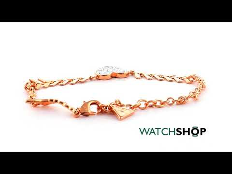 Guess Jewellery Ladies' Rose Gold Plated Cupid Bracelet (UBB85087-L)